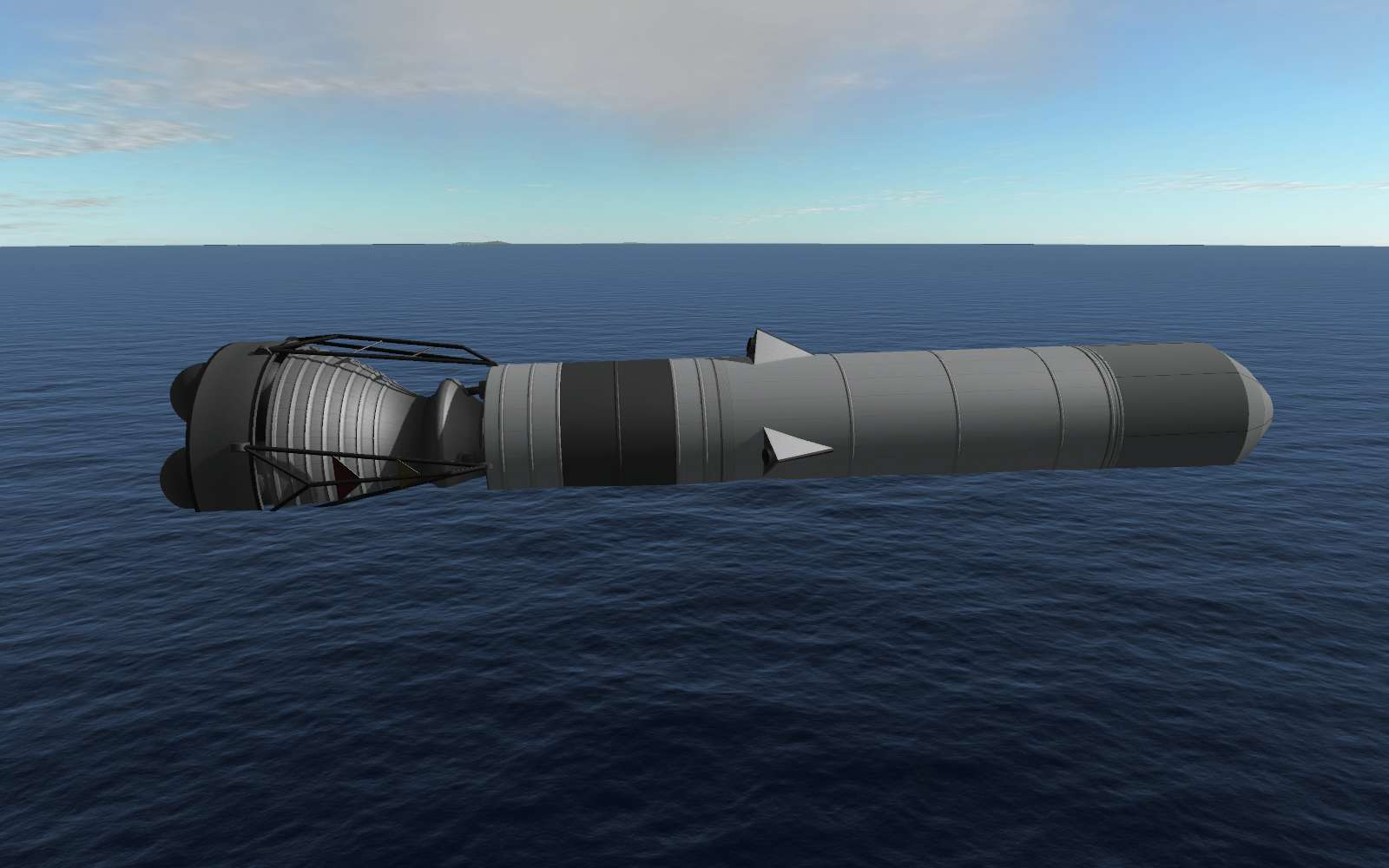 KSP 2016 03 28 16 20 56 92 1 2 1 3] real scale sea dragon 0 3 4 (2016 07 12) page 2 add on